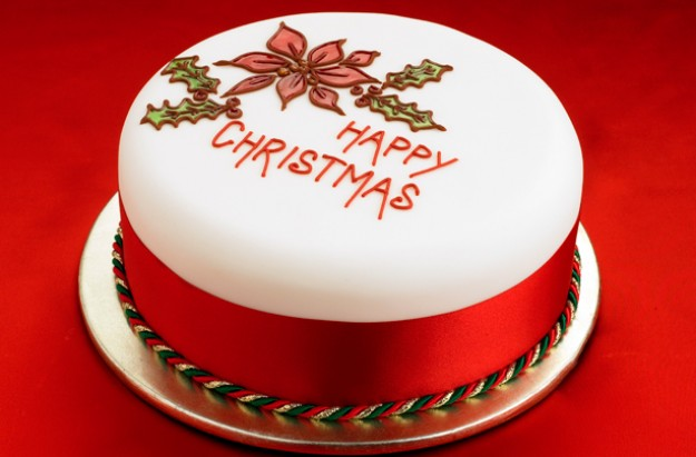 Christmas Celebration With Delicious Cakes