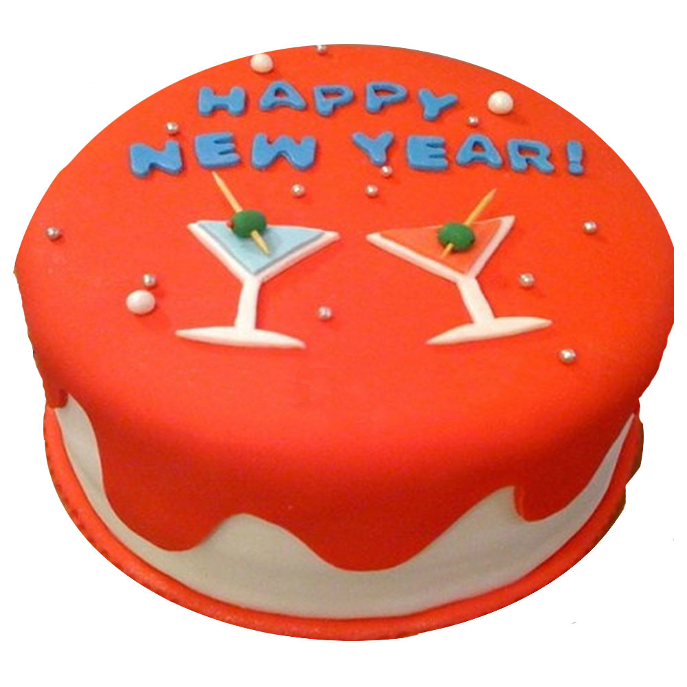 we are not just booking a new year theme cake and delivering at home but we are delivering cake directly at your party place because we knew people are