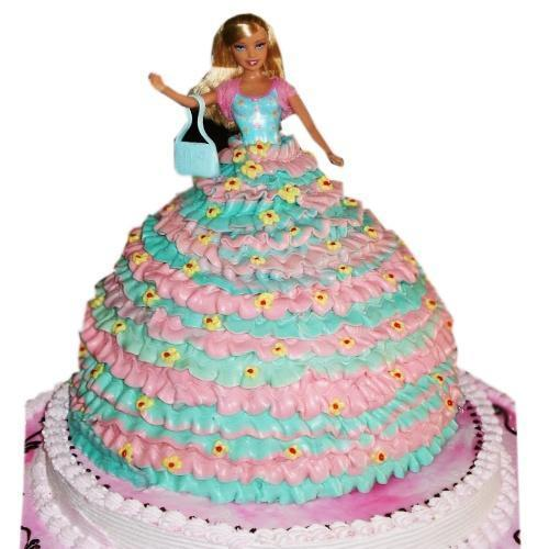 Barbie cake Delivery in Jaipur