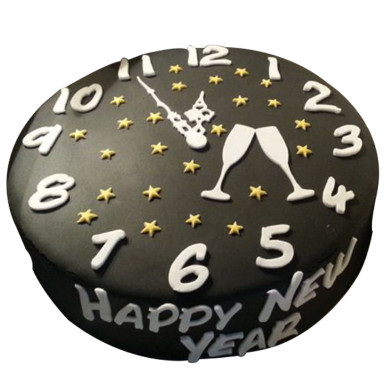 Book New year special Cakes in advance - Winni - Celebrate Relations