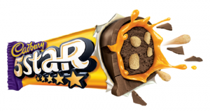 Cadbury 5 star chocolate