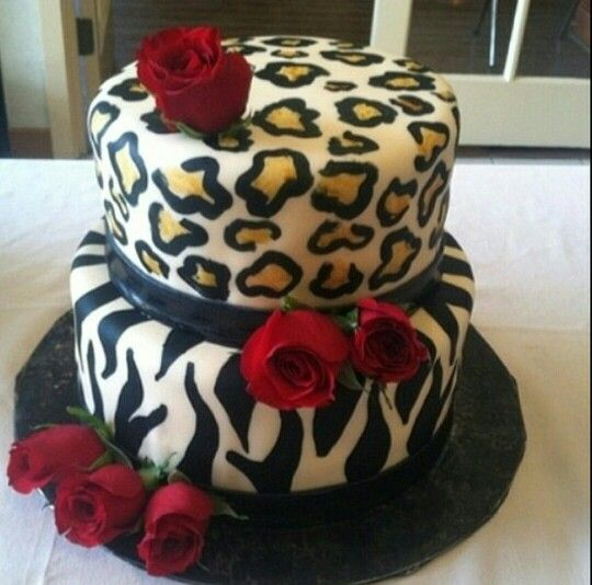 Fantastic Animal Print Cake Winni Celebrate Relations Funny Birthday Cards Online Aeocydamsfinfo