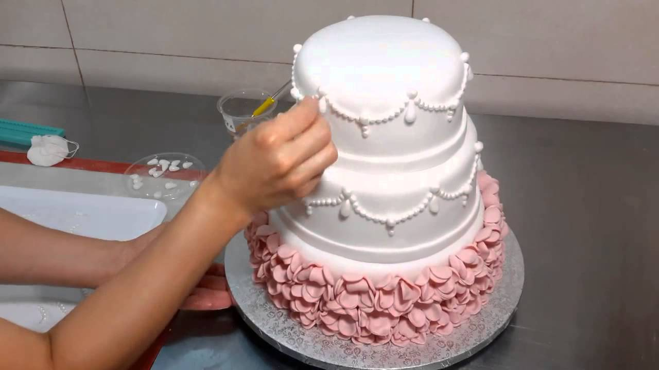 Preparation of the Cake