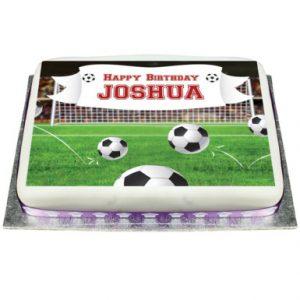 Football Photo Cake