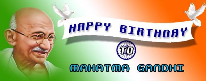 mahatma gandhi birthday day