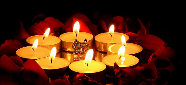 Diyas and Candles