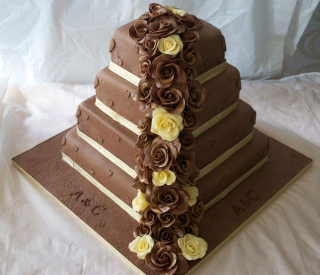 Chocolate 4 Tier Cake