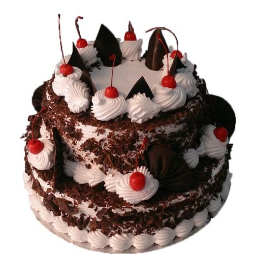 Black Forest 2-Tier Cake