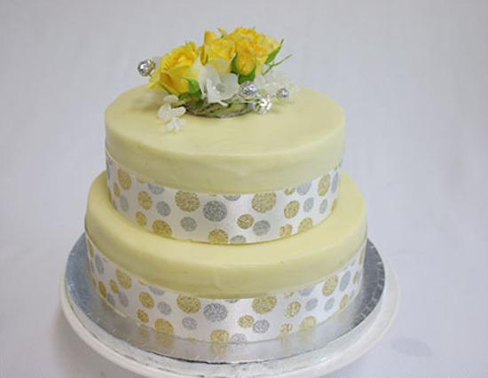 2-Tier Butterscotch Cake