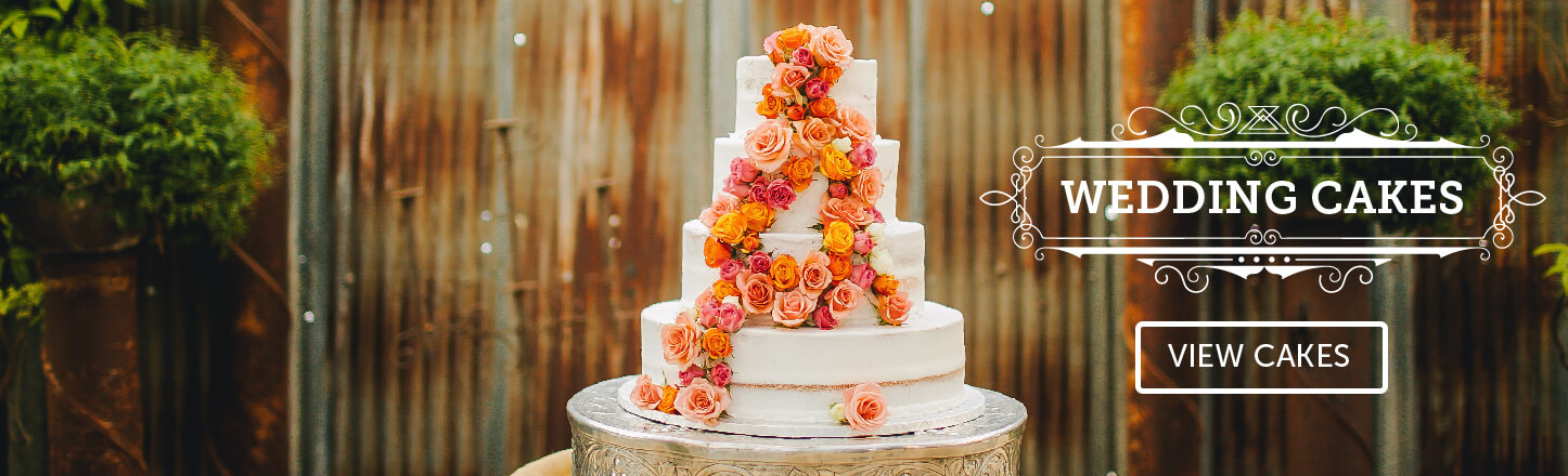 Make your wedding day stunning with elegant wedding cakes