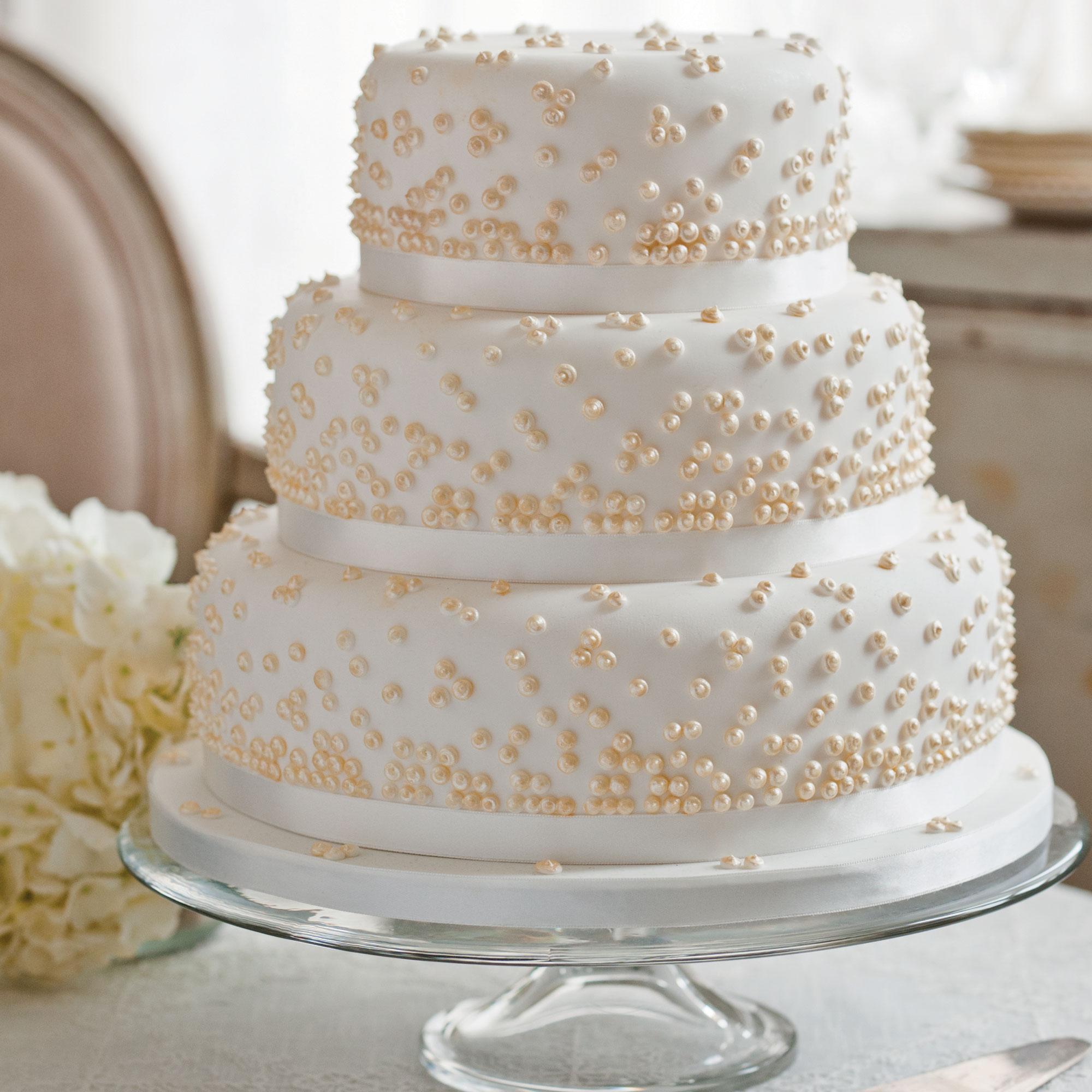 Vanilla 4-Tier Cake