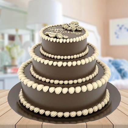Chocolate 3-Tier Cake