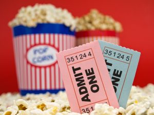 Romantic Movie Ticket For Two