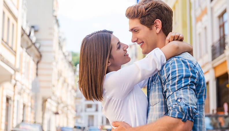 οπτική επαφή σε κάθε στάδιο μιας σχέσης