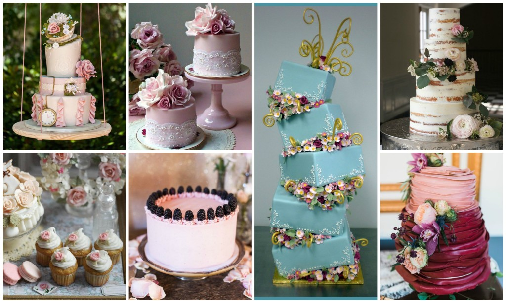 8 Gorgeous Wedding Cakes for the Bride & Groom