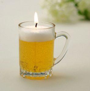 Beer Mug Candles