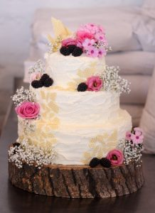 White Chocolate with Raspberry Wedding