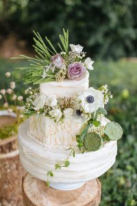 Coconut and Lime Wedding Cake