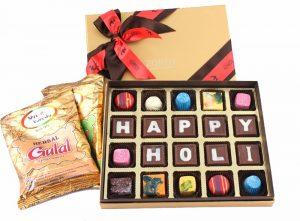 Gulal with Chocolates
