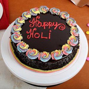 Holi Special Cake