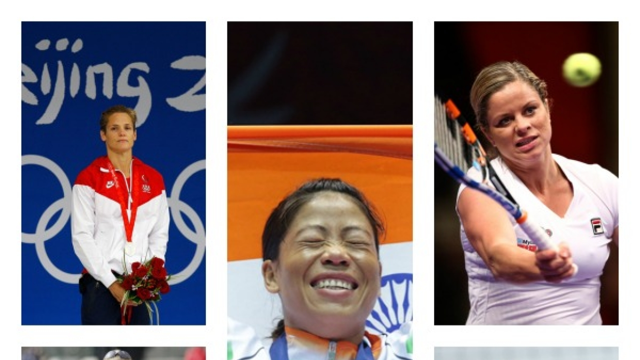 5 Inspirational Mothers who Shine as Successful Sports Persons