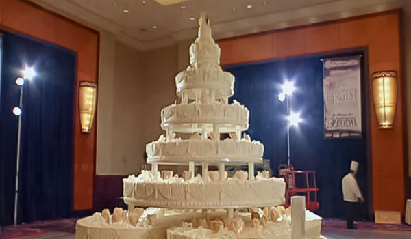 A Record For The Tallest Cake