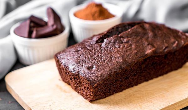 Healthy Sugar-Free Chocolate Dry Cake