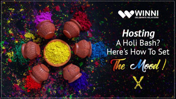 Hosting A Holi Bash? Here's How To Set The Mood!