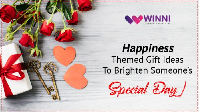 Happiness Themed Gift Ideas To Brighten Someone's Special Day!