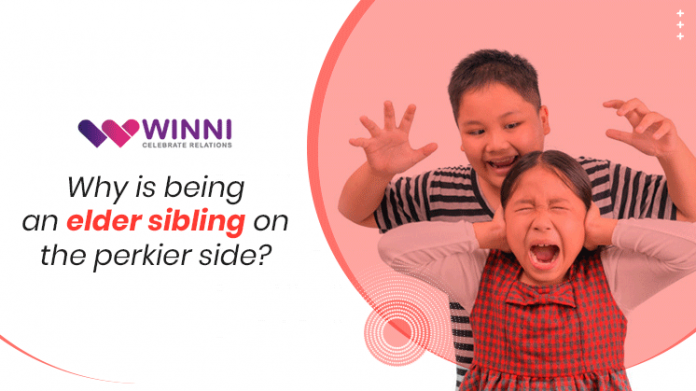 Why is being an elder sibling on the Perkier Side?