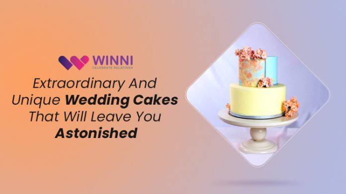 Extraordinary And Unique Wedding Cakes That Will Leave You Astonished