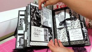 Personalised scrapbook