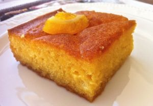 Greece: Yogurt Cake with Orange Syrup